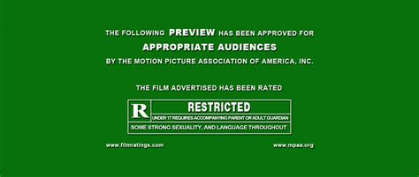 trailer ratings psd template movie trailer green screen intro bcj media