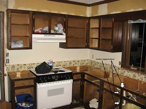 cost to have kitchen cabinets can i remove the wood between two cabinet doors under the