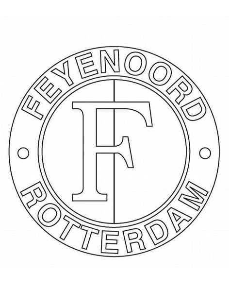 Kleurplaat Arsenal by N 19 Coloring Pages Of Soccer Clubs Netherlands