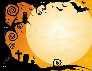 Halloween Border Background – Festival Collections