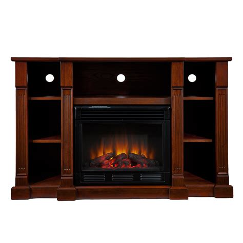media electric fireplace kendall electric media fireplace espresso southern