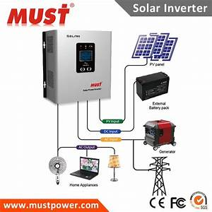 Factory Price 1000w Solar Circuit Diagram Off Grid Hybrid