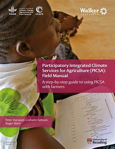 Pdf  Participatory Integrated Climate Services For