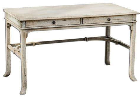 distressed wood computer desk distressed wood bridgely mango wood writing desk