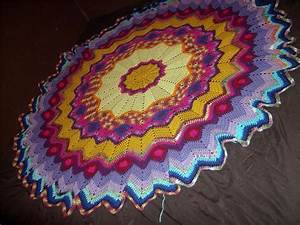 1000  Images About Round Ripple Afghan On Pinterest