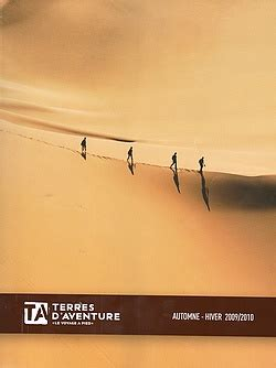 terres d aventure sort sa brochure automne hiver 2009 2010