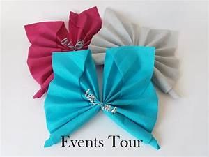 Pliage De Serviette Papillon : pliage de serviette papillon x1 ref 10055 ~ Melissatoandfro.com Idées de Décoration