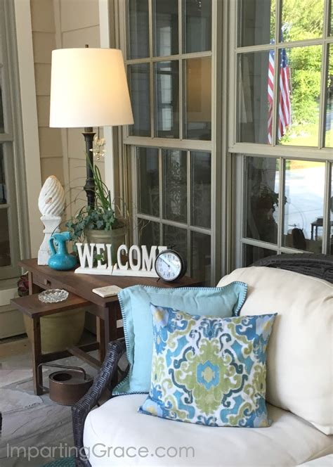 imparting grace front porch update  tips  choosing