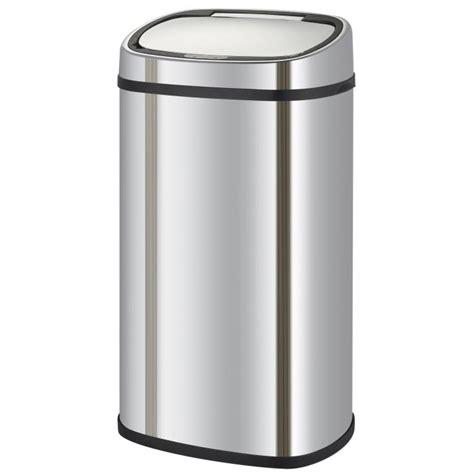 grande poubelle cuisine kitchen move poubelle de cuisine automatique 58 l achat