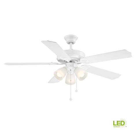 White Ceiling Fans With Lights by Ceiling Fans With Lights Ceiling Fans The Home Depot