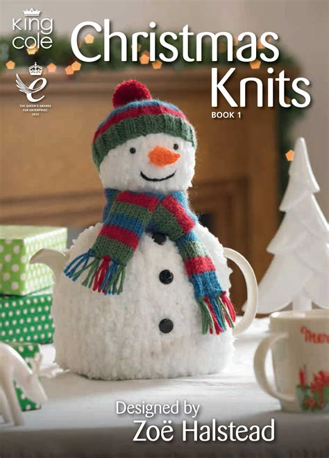 christmas knits book  king cole