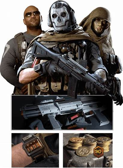 Duty Call Warfare Pass Battle Ghost Campaign