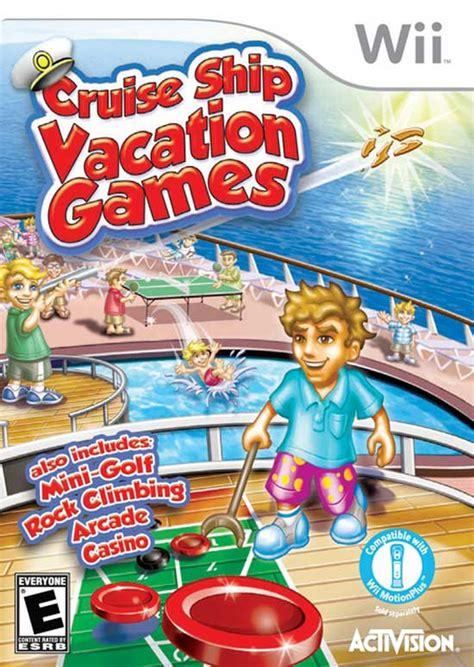Cruise Ship Vacation Games Nintendo WII Game