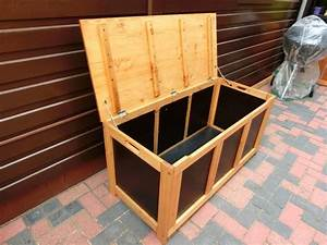 Auflagenbox Holz Wasserdicht : die besten 25 auflagenbox ideen auf pinterest garten auflagenbox auflagenbox holz und diy ~ Whattoseeinmadrid.com Haus und Dekorationen