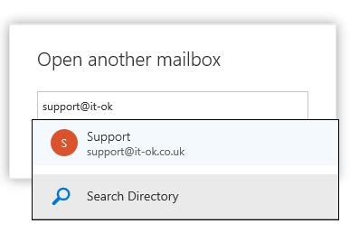 Office 365 Portal Open Shared Mailbox by Add Automatic Reply To Shared Mailbox Office 365