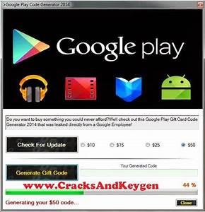 Google Play Code Generator