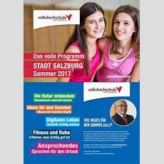 Sommerprogramm Volkshochschule Salzburg 2017 By Marktkraft Issuu