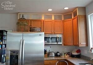 Extending Kitchen Cabinets To The Ceiling