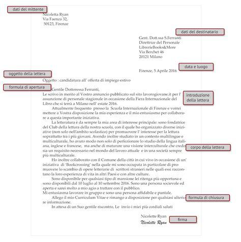 modelli lettere commerciali 14 1 strategie di scrittura 14 1 2 lettera formale