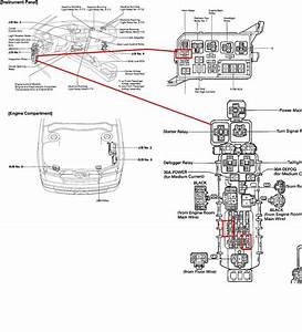 2005 Toyota Matrix Fuse Box Diagram Wiring Diagrams Wiring