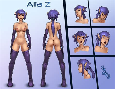 Alia Z Character Sheet Naked By DrGraevling Hentai Foundry