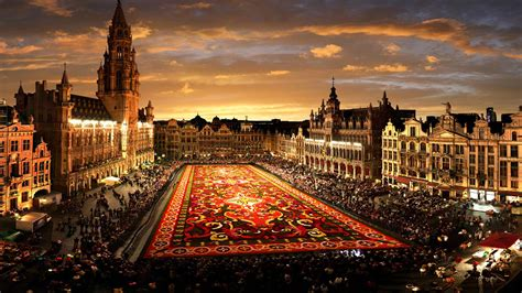 grand palace  city brussels desktop hd wallpapers