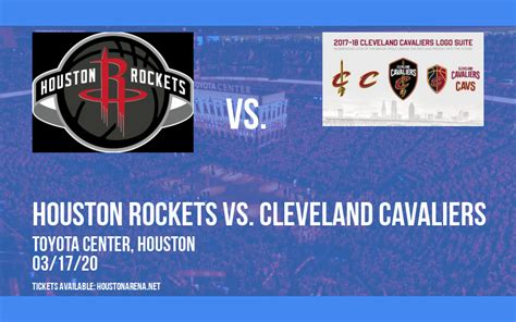 Houston Rockets vs. Cleveland Cavaliers [CANCELLED ...
