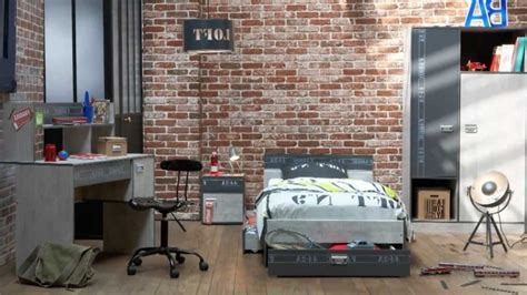 deco industrielle chambre chambre deco industrielle maison design sphena com