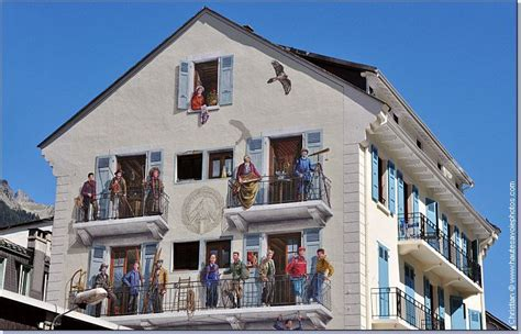 bureau des guides de chamonix mont blanc street art