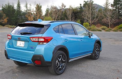 weekend warrior  subaru crosstrek hybrid test drive