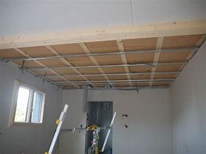 Isolation Phonique Plafond Placo Isolation Toiture Rampant