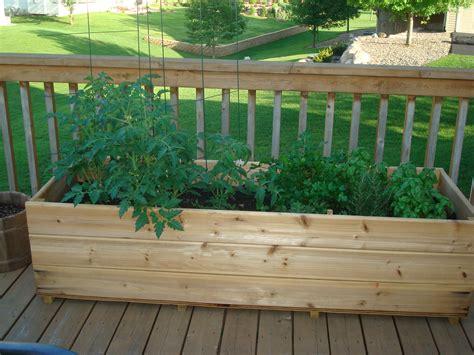 garden deck ideas the deck garden today my northern garden