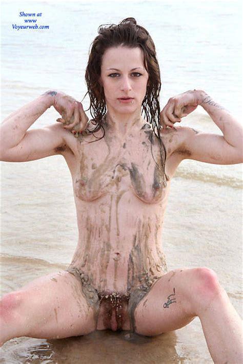 Sandy Body On The Beach September Voyeur Web