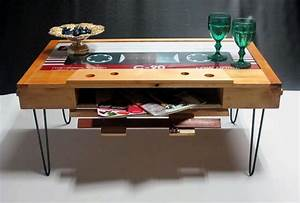Cassette Tape Coffee Table Brings Back The Times Of 8039s