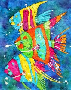Martha Kisling Art With Heart : Tropical Fish Watercolor ...