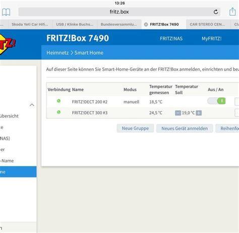 fritzbox im browser avm fritzdect 300 test der heizungssteuerung f 252 r die fritzbox welt