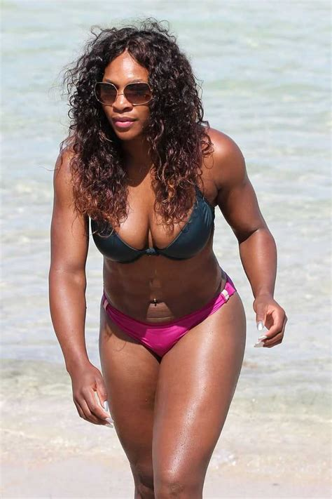 Williams boobs serena Serena Williams'
