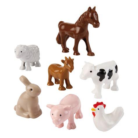 animaux de la ferme abrick ecoiffier king jouet