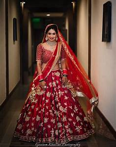 Your Complete Guide To The Bridal Lehenga Trends of 2017! * WedMeGood