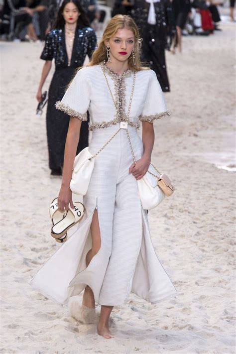 Chanel Spring Summer 2019 Rtw Beach Runway Collection