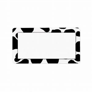 cow print address labels zazzle With cow address labels