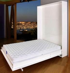 toutes les solutions de literie gain de place lit With armoire lit escamotable canapé