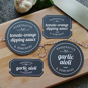 Printable food labels lia griffith for Homemade food labels