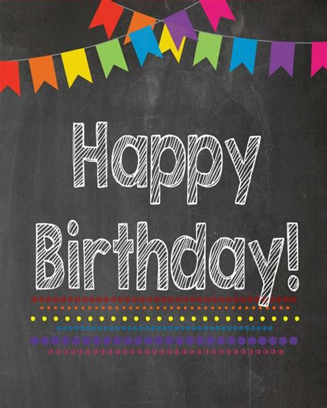 73 best happy birthday signs cool printable
