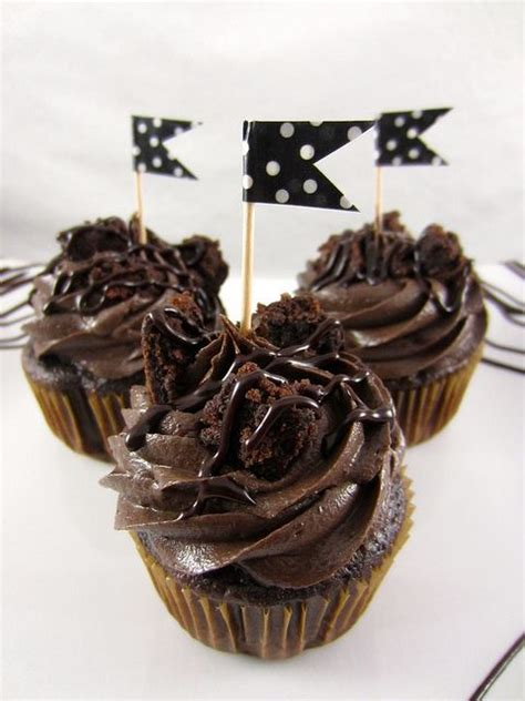 Triple Chocolate Brownie Cupcakes Recipes To Try