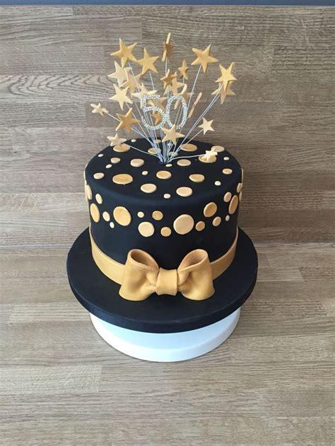 black  gold cake birthday cakes  women black