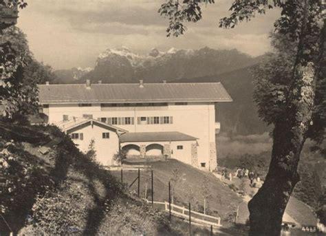 Alte Postkarte Haus Wachenfeld Am Obersalzberg Gegen