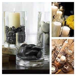 bocaux en verre et vases idees de composition With idee deco cuisine avec objet deco en verre