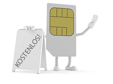 kostenlose sim karten im vergleich prepaid finderde