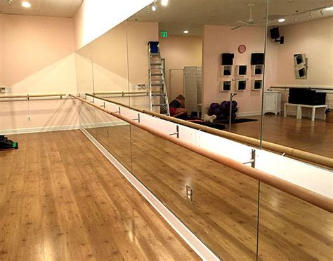 shipping  ballet barre wall mounted barre